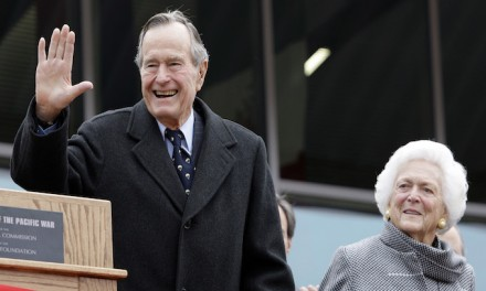 Former President George H.W. Bush and wife hospitalized