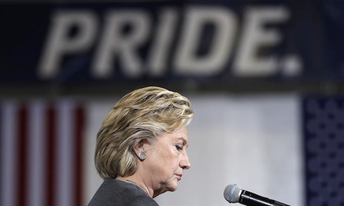 Sanders' voters not showing up for Hillary