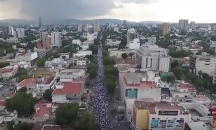 250K march against same-sex 'marriage' in Mexico City
