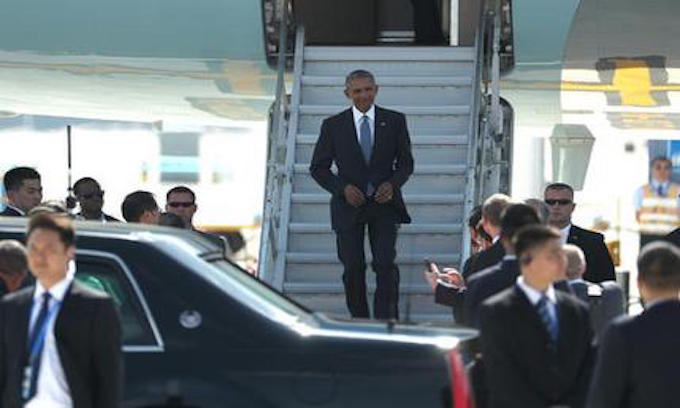 Obama 'deliberately snubbed' by Chinese in chaotic arrival at G20