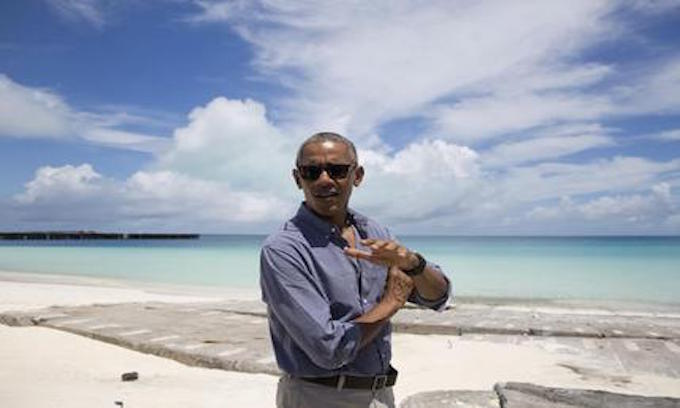 Obama off to Midway for environmental photo op