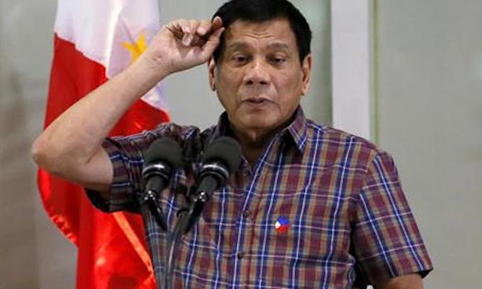 Philippines' Duterte calls Obama 'son of a whore'