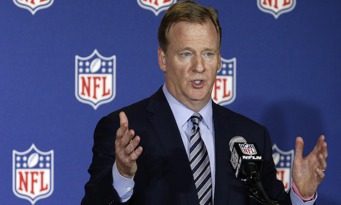 Roger Goodell 'wants $50million a year and a private jet for LIFE to stay on as head of the NFL'