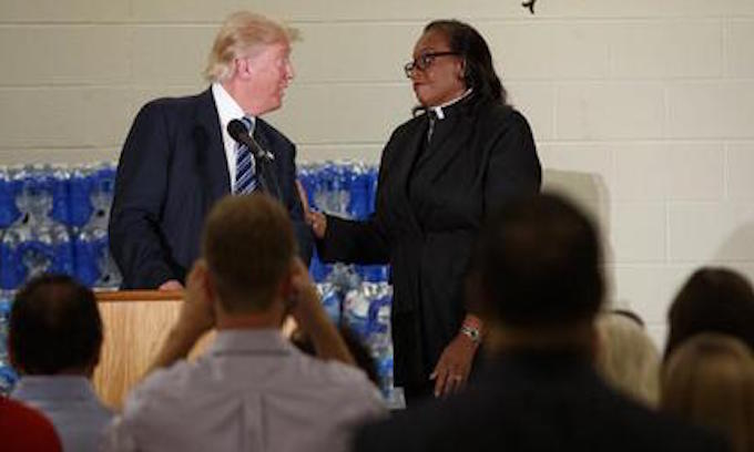 Did Flint Preacher Set a Trap for Trump?