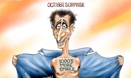 Hey, Hillary! Surprise!