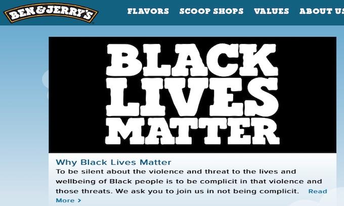 Police group boycotts Ben & Jerry's over Black Lives Matter support