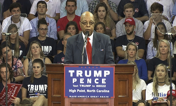 Civil rights hero from 60s takes criticism as Trump backer
