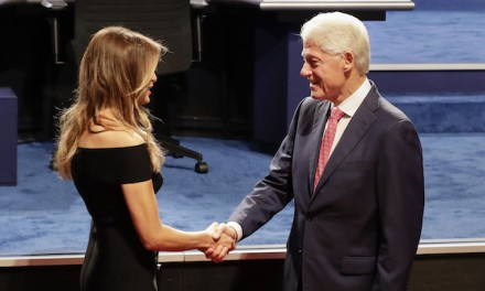 Add Your Caption:  Bill Clinton says 'Nice to meet you'