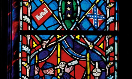 Wiping History: Confederate flags removed from Washington National Cathedral stained-glass windows