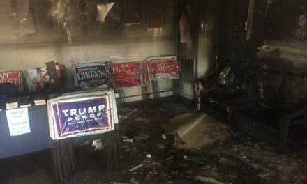 Firebombed N.C. Republican field office to reopen