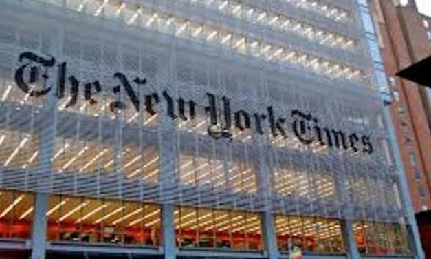 Civility? NY Times Publishes Fantasy Story Depicting Trump's Assassination