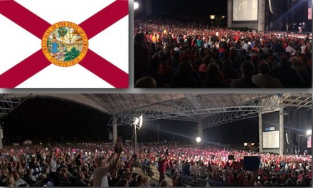 20K at Trump rally in Tampa yesterday
