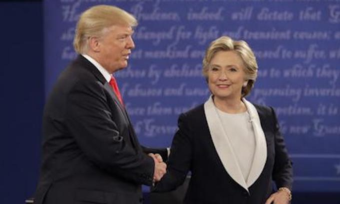 Debate: Trump dominates Hillary all night