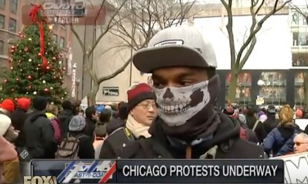 Chicago Protester: No reason to vote in this country