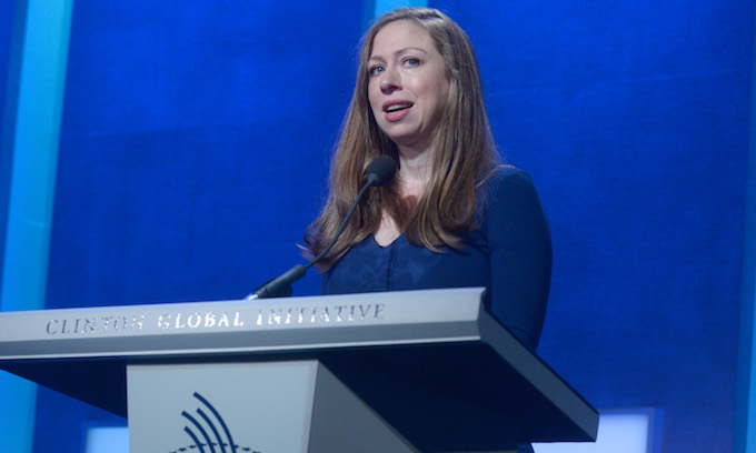 Lecture: Chelsea Clinton Warns of Sexism, Racism, Islamophobia in Trump's America