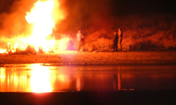 Dakota Access Riots: Police Break Out the Water Cannons