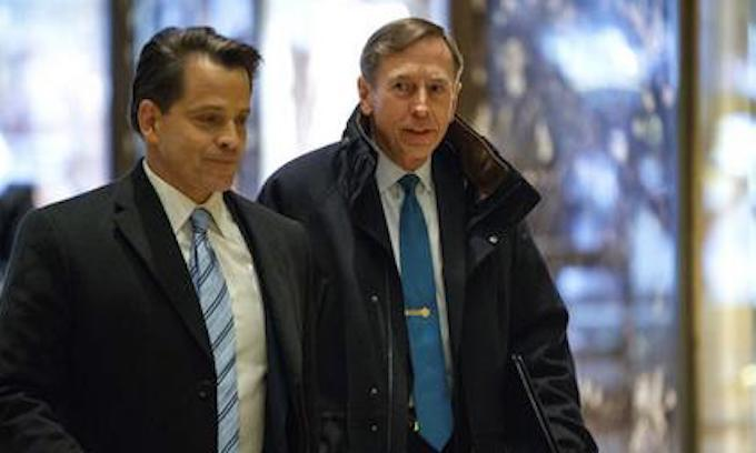 New DoD Investigation into Petraeus on Same Day he Meets with Trump