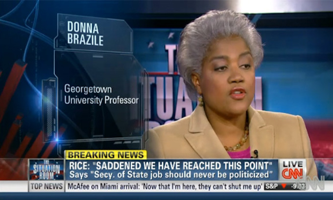 Donna Brazile, CNN, give proof to Trump's rigged claim