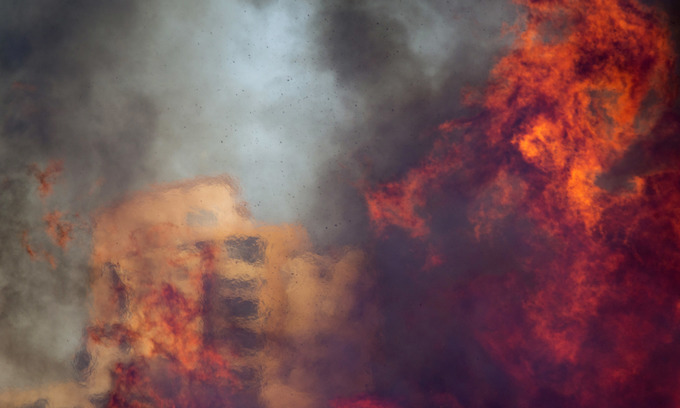 As Israel burns, are we looking at a new form of eco-terrorism?