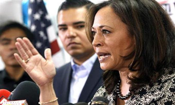 Kamala Harris, potential presidential runner, pushes for single-payer