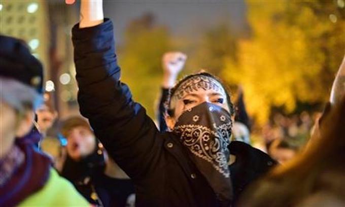The Anti-Trump Riots are a Smoke Screen