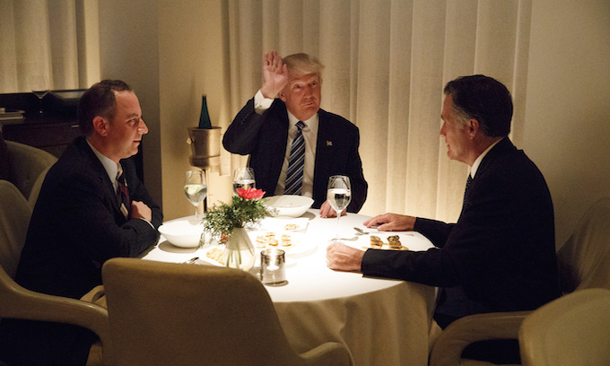 Mitt Romney meets with Donald Trump for 'interesting' discussion
