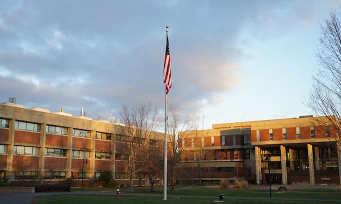 Old Glory Flies Again at Hampshire College