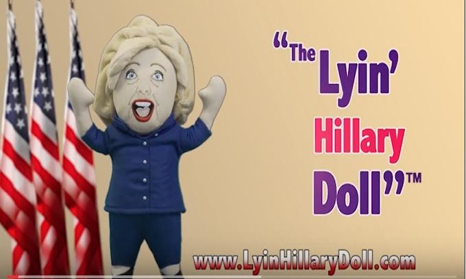 'Lyin Hillary Doll' unleashes firestorm