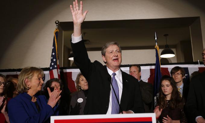 Louisiana Republican John Kennedy easily wins Senate runoff