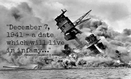Pearl Harbor: Dec. 7, 1941 is a date we must never forget