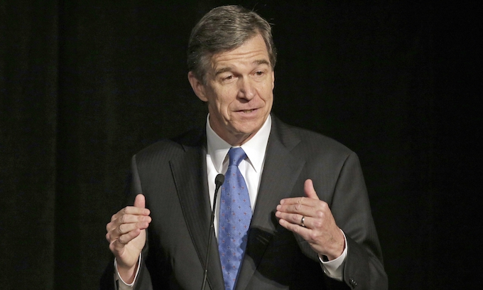 Does Gov. Cooper trust his state justice system?
