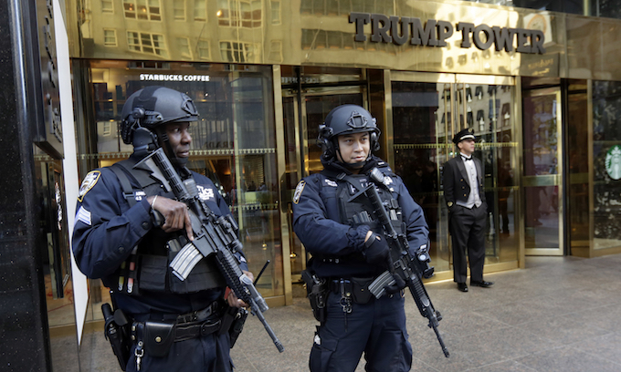 Trump Tower has America's attention but New Yorkers are not pleased as traffic chaos mounts, businesses suffer losses