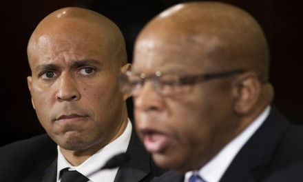 Cory Booker focuses on race in Judiciary Committee hearings