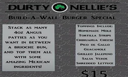 Chicago Pub apologizes for 'Build-A-Wall' burger with Mexican toppings