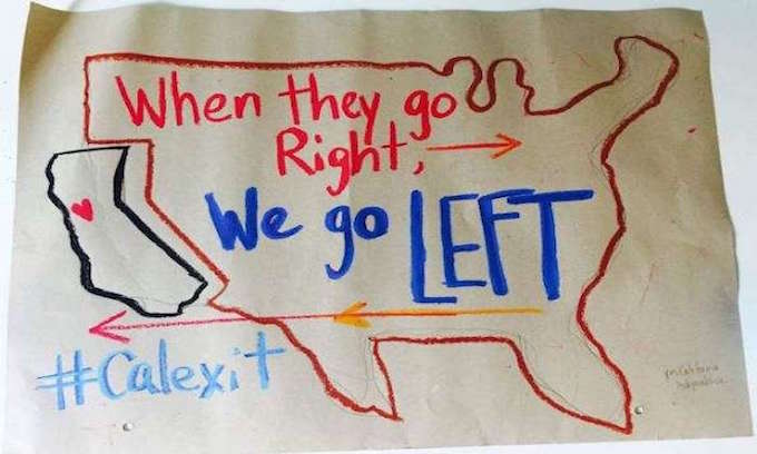 Calexit secession campaign begins collecting signatures for ballot
