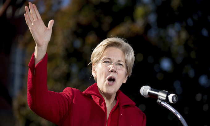 Elizabeth Warren wants a federal crackdown on 'officer abuses' and the 'school-to-prison pipeline'