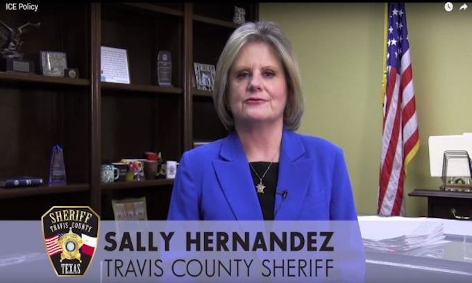 Liberal sheriff makes an 'unconscionable' choice