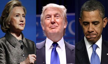 Donald Trump vs. Barack Obama: Veni, vidi, vici