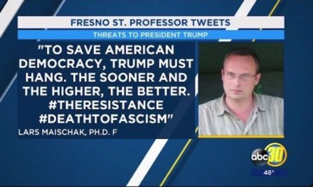 Lars Maischak, professor who said Donald Trump 'must hang,' won't return to Fresno State
