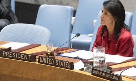 Nikki Haley defends Jerusalem move for U.S. Embassy