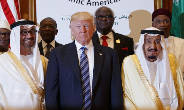 Trump Signals New Policy for Middle East