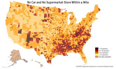 Blue State Pushes Food Desert Crisis