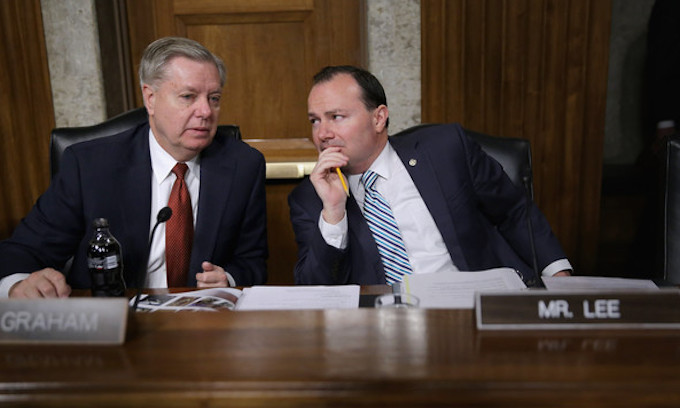 Mike Lee, Lindsey Graham join Democrats in demanding Trump turn over tapes