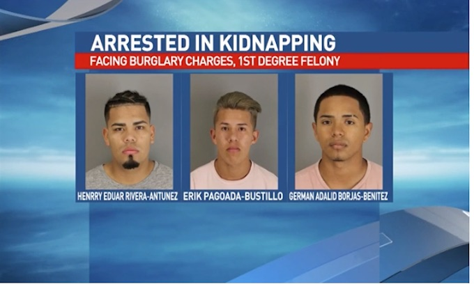 Illegal alien teens arrested for kidnapping of county attorney from his home
