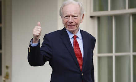 Trump Says Joe Lieberman Is His Top Choice For FBI Director