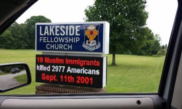 Church Accused of Hate Speech
