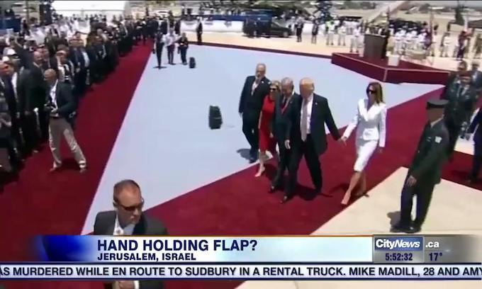 Media Meltdown: Tizzy Erupts over Melania Trump's Hand 'Swat'
