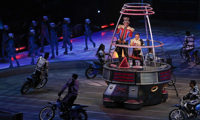 Tears on last night for Ringling Bros. 'Greatest Show on Earth'