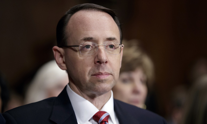 GOP lawmakers introduce articles of impeachment against Rod Rosenstein