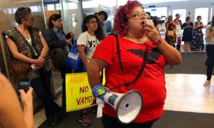 All day sit-in protest of 'sanctuary cities' bill ends in arrests
